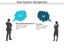 Data Systems Management Ppt Powerpoint Presentation Inspiration Cpb