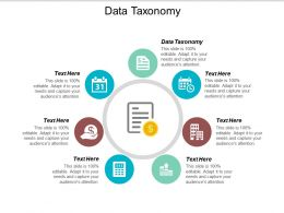 Data Taxonomy Ppt Powerpoint Presentation File Show Cpb