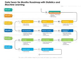 Data Team Six Months Roadmap With Statistics And Machine Learning