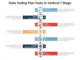 Data Testing Plan Tasks In Vertical 7 Stage