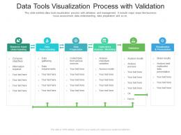 Data Tools Visualization Process With Validation