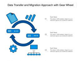 Data Transfer And Migration Approach With Gear Wheel