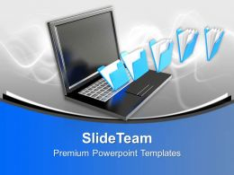 Data Transferring Technology Powerpoint Templates Ppt Themes And Graphics 0113