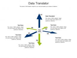 Data Translator Ppt Powerpoint Presentation Inspiration Slides Cpb
