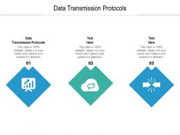 Data Transmission Protocols Ppt Powerpoint Presentation File Topics Cpb