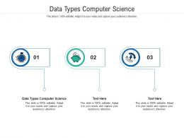 Data Types Computer Science Ppt Powerpoint Presentation Inspiration Pictures Cpb