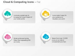 Data Upload Transfer Cloud Computing Ppt Icons Graphics