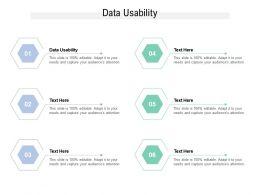 Data Usability Ppt Powerpoint Presentation Portfolio Design Templates Cpb