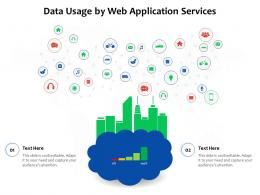 Data Usage By Web Application Services