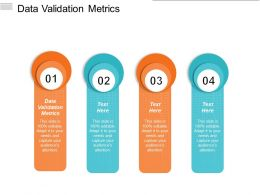 Data Validation Metrics Ppt Powerpoint Presentation Gallery Outfit Cpb