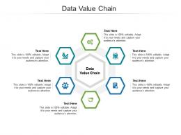 Data Value Chain Ppt Powerpoint Presentation Slides Mockup Cpb