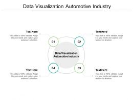 Data Visualization Automotive Industry Ppt Powerpoint Presentation Ideas Icons Cpb