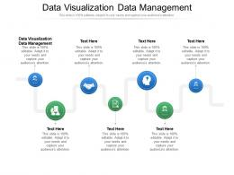 Data Visualization Data Management Ppt Powerpoint Presentation Icon Inspiration Cpb