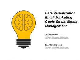 Data Visualization Email Marketing Goals Social Media Management Cpb