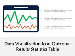 Data Visualization Icon Outcome Results Statistics Table