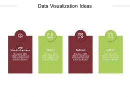 Data Visualization Ideas Ppt Powerpoint Presentation File Elements Cpb
