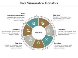 Data Visualization Indicators Ppt Powerpoint Presentation Gallery Backgrounds Cpb