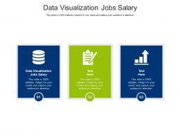 Data Visualization Jobs Salary Ppt Powerpoint Presentation Layouts Layout Cpb