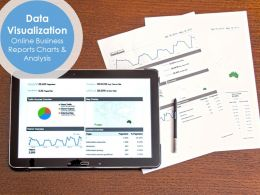 Data Visualization Online Business Reports Charts And Analysis