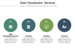 Data Visualization Services Ppt Powerpoint Presentation Gallery Graphics Cpb