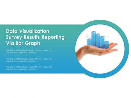 Data Visualization Survey Results Reporting Via Bar Graph