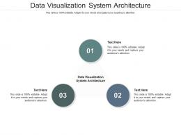 Data Visualization System Architecture Ppt Powerpoint Presentation Icon Examples Cpb