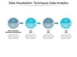 Data Visualization Techniques Data Analytics Ppt Powerpoint Presentation Summary Outfit Cpb