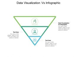 Data Visualization Vs Infographic Ppt Powerpoint Presentation Inspiration Visuals Cpb