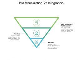 Data Visualization Vs Infographic Ppt Powerpoint Presentation Inspiration Visuals Cpb