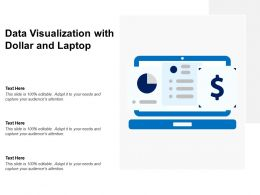 Data Visualization With Dollar And Laptop