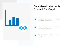 Data Visualization With Eye And Bar Graph