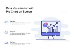 Data Visualization With Pie Chart On Screen