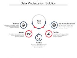 Data Visulaization Solution Ppt Powerpoint Presentation Summary Grid Cpb