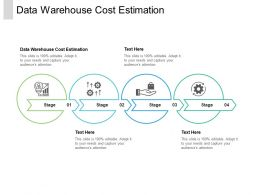 Data Warehouse Cost Estimation Ppt Powerpoint Presentation File Elements Cpb