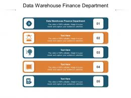 Data Warehouse Finance Department Ppt Powerpoint Presentation Infographic Template Inspiration Cpb