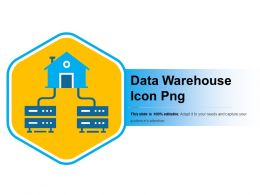 Data Warehouse Icon Png Ppt Example