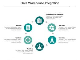 Data Warehouse Integration Ppt Powerpoint Presentation Infographics Templates Cpb