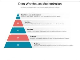 Data Warehouse Modernization Ppt Powerpoint Presentation Styles Visual Aids Cpb