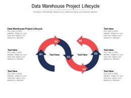 Data Warehouse Project Lifecycle Ppt Powerpoint Presentation Backgrounds Cpb