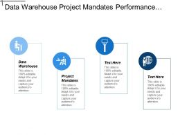 Data Warehouse Project Mandates Performance Information Corporate Functions