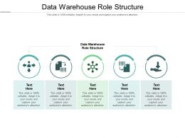 Data Warehouse Role Structure Ppt Powerpoint Presentation Styles Skills Cpb