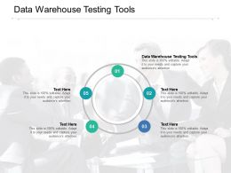 Data Warehouse Testing Tools Ppt Powerpoint Presentation Professional Skills Cpb