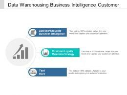 Data Warehousing Business Intelligence Customer Loyalty Retention Strategy Cpb