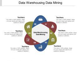 Data Warehousing Data Mining Ppt Powerpoint Presentation Ideas Cpb