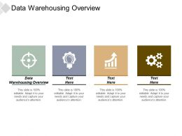 Data Warehousing Overview Ppt Powerpoint Presentation Infographics Structure Cpb