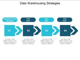 Data Warehousing Strategies Ppt Powerpoint Presentation File Good Cpb