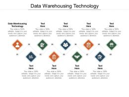 Data Warehousing Technology Ppt Powerpoint Presentation Outline Format Cpb