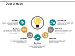 Data Window Ppt Powerpoint Presentation Gallery Graphics Design Cpb