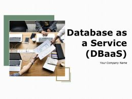 Database As A Service Powerpoint Presentation Slides