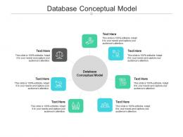 Database Conceptual Model Ppt Powerpoint Presentation Professional Format Cpb